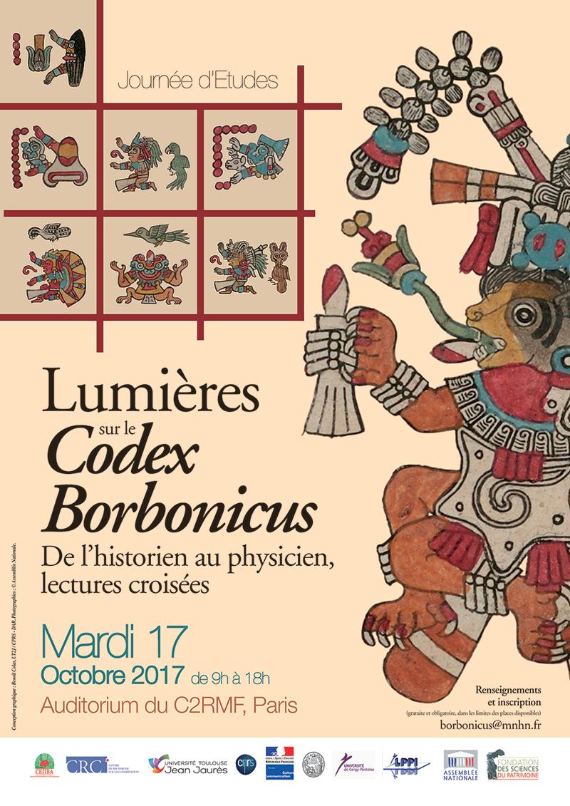 Affiche Lumières sur le Codex Borbonicus. De l'historien au physicien, lectures croisées