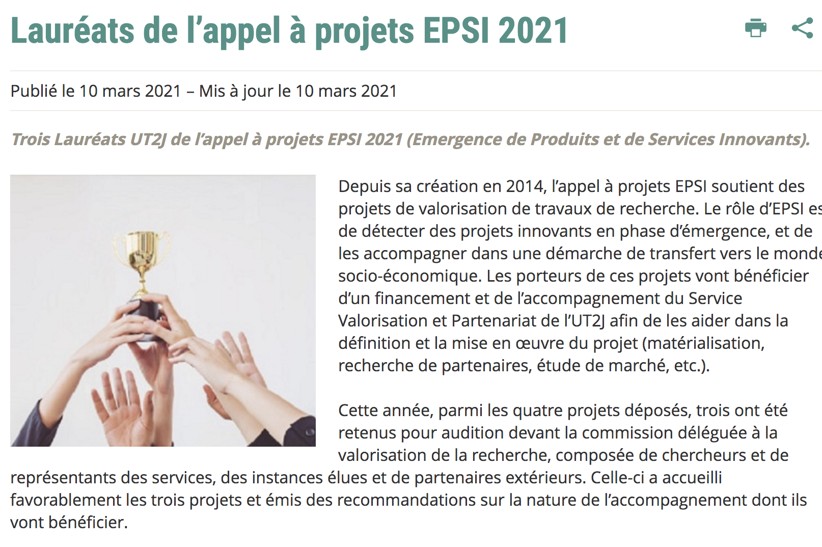 EPSI 2021