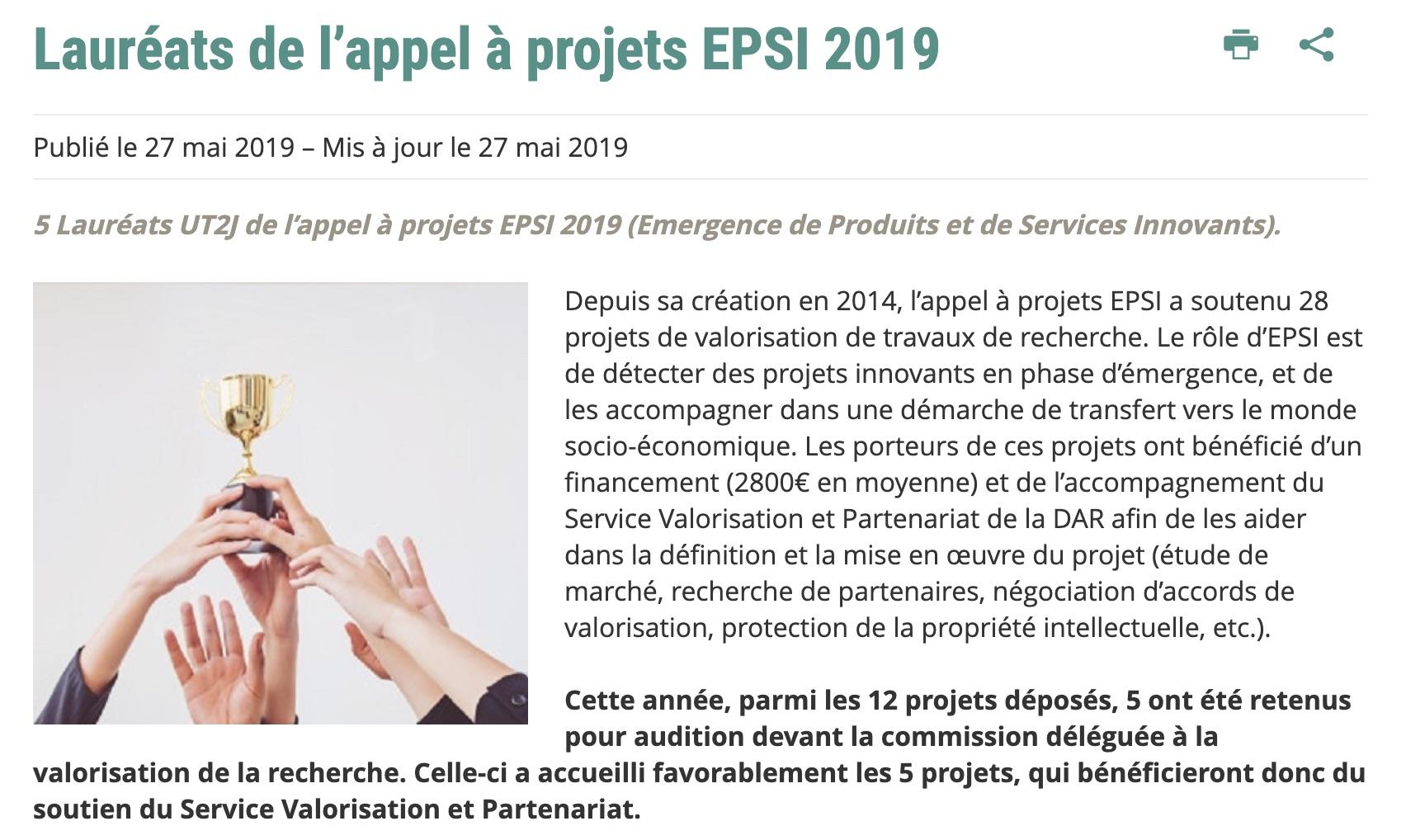 EPSI 2019